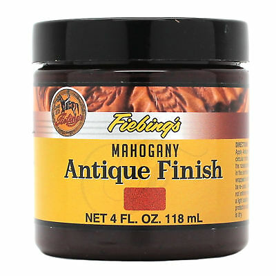 Fiebing's Antique Finish Mahogany Paste 4 oz 21980-05 Leather Dye Stain
