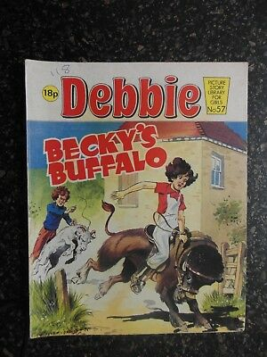 1982 DEBBIE picture library for girls  No.57 -  BECKY'S BUFFALO