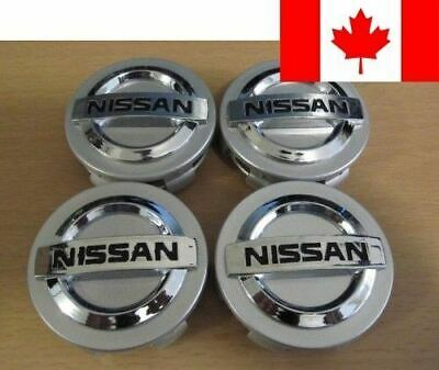 NEW 4pcs. Nissan 350Z Altima Maxima Murano Sentra Wheel Center caps 40342-AU5...