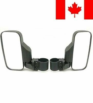 """OKSTNO UTV Side View Mirror for 1.5"""" - 2"""" Roll Cage Tempered Glass Breakaway ..."""