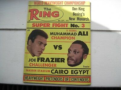 The Ring Boxing Magazine - Aug-Sep. 1975- Super Fight No.3
