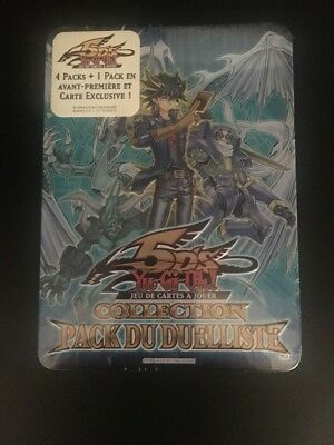 Yu Gi Oh Tin Box Collection Pack Du Duelliste Bleu