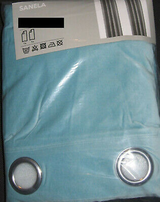 "IKEA Sanela VELVET Drapes CURTAINS 2 Panels 98"" Long ALL COLORS Dramatic Classic"