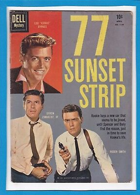 77 Sunset Strip #1159_April 1961_Very Good_Dell Mystery Comics!