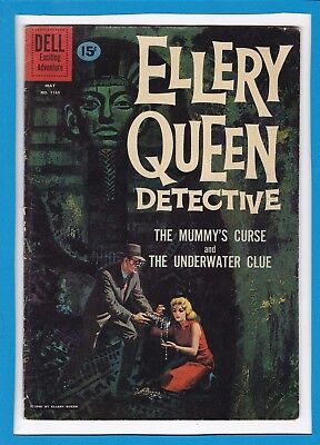 Ellery Queen Detective #1165_May 1961 Good/very Good_Dell Exciting Adventure!