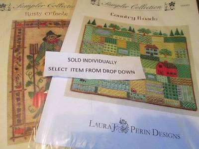 Laura Perin Designs Sampler Collection Canvaswork CHART Your Choice