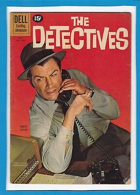 The Detectives #1168_May 1961_Good/very Good_Dell Exciting Adventure Comics!