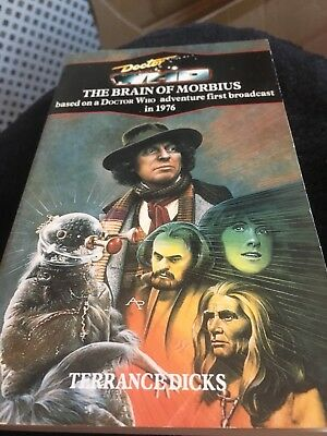 Dr Who The Brain Of Morbius Target Blue Spine Book