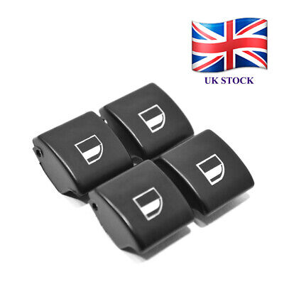 4 x for BMW E46 Electric Window Regulator Control Switch Button Cover Knob D03