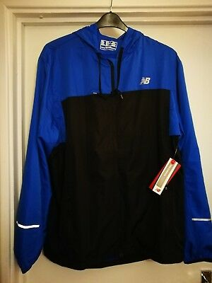 new balance sequence hood jacket XL