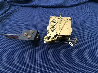 Vintage Smiths Clock Movement And  Bars