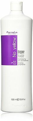 NEW Fanola no yellow shampoo 1000 ml contains Violet Pigment FREE DELIVERY