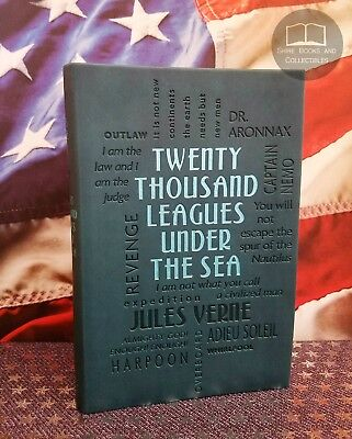 NEW 20,000 Twenty Thousand Leagues Under the Sea by Jules Verne Faux Leather Ed