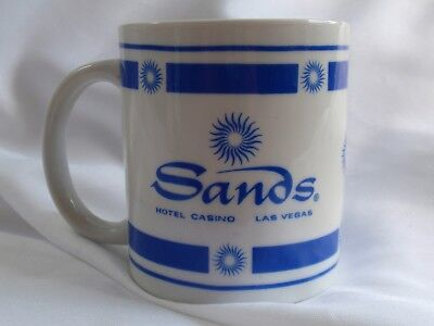 SANDS Las Vegas Casino Hotel Drink / Coffee MUG - famous for the Rat Pack