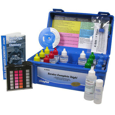 Taylor Service Complete Water Test Kit For Swimming Pool & Spa K-2005C