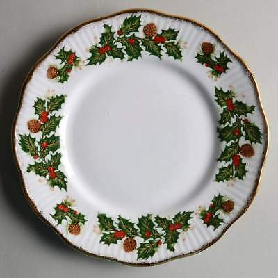 Rosina Queens YULETIDE (SCALLOPED) Eros Salad Dessert Plate 5450849