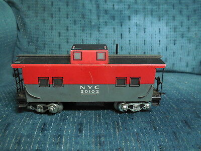 O Scale Vintage Marx Line Caboose Nyc #20102 New York Central Railroad Train:)