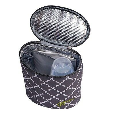 J J Cole Baby Bottle Cooler Insulated Bag Ice Pack Stone Arbor Travel Handle