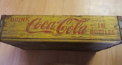 50s Coke wooden crate