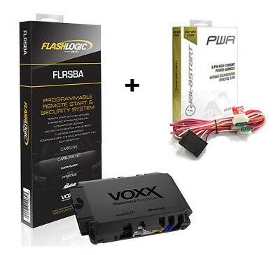 Flashlogic FLRSBA Remote Start Add-On Module  3X LOCK To Start + Power Harness