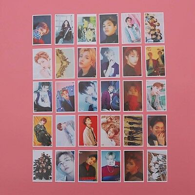 Kpop NCT U 127 Dream Lomo Paper Card Fashion Self Made Photocard 30pcs/set