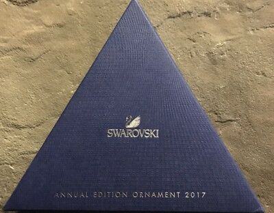 Swarovski Crystal Large Ornament 2017 Annual Edition Nwt