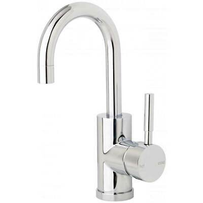 4 star 7.5lpm 120mm Gooseneck Basin Mixer Chrome Tap Kitchen Bathroom Laundry Sp