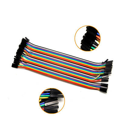 Dupont Wire Jumper cables 40PCS Male to Male Male to Female 20CM 1P-1P Arduino