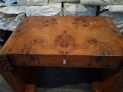 Art Deco Style Furniture Desk | Writing Table With Drawer - Furniture C249 Or