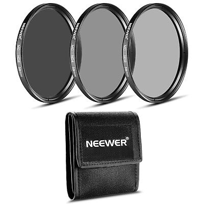 Neewer 58MM Neutral Density Professional Photography Filter Set (ND2 ND4 ND8)