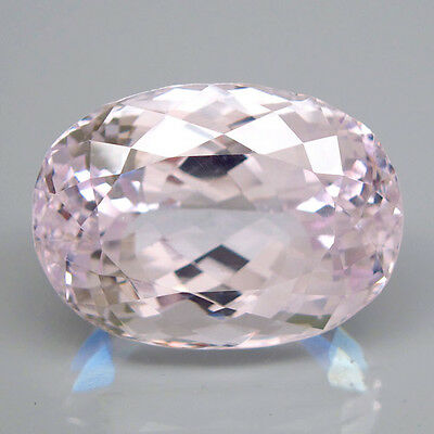 35.32ct.OUTSTANDING! 100%NATURAL TOP SILVER PINK KUNZITE UNHEATED RARE AAA!
