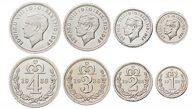 2016 King Edward VIII 1936 Maundy Pattern Set coins that never were (D)