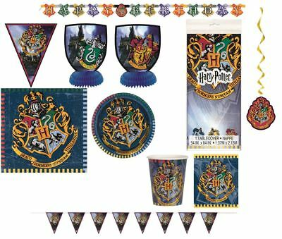 Harry Potter tableware birthday party accessories decorations plates cups