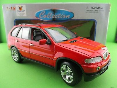 Welly BMW X 5 rot ca.12 cm lang