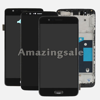 OEM LCD Frame Touch Screen Digitizer Replacement Parts For OnePlus 1+ 2 3 3T 5