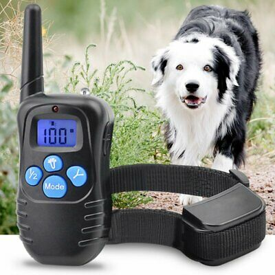 Shock Collar for Dogs w/Remote + TrainingClicker- 3 Modes Dog Training Canada