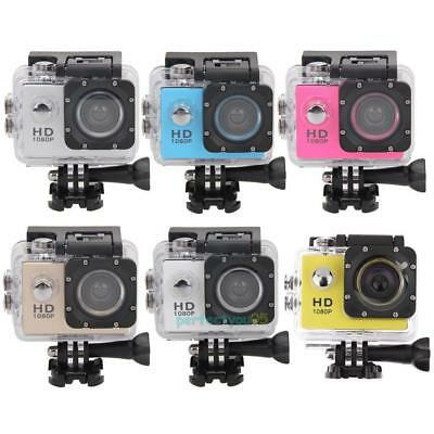 "Full HD 1080P 2.0"" Sports DV Waterproof Action Camera Bicyling Cam Canada"