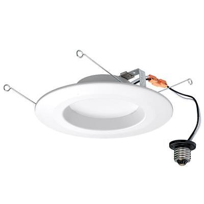 Commercial Electric 5 In And 6 In Soft White Recessed Led Trim 4