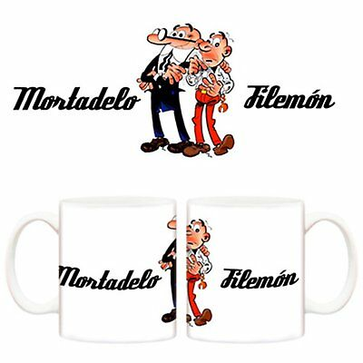 Taza Mortadelo y Filemón protagonistas cómic