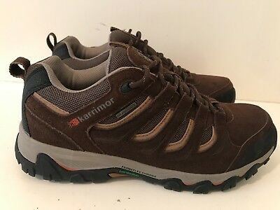 70da498ee0e KARRIMOR MOUNT LOW Mens Walking Shoes Brown Size UK 9 (EU 43 ...