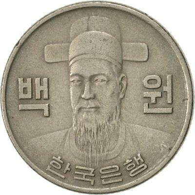 [#423493] Coin, KOREA-SOUTH, 100 Won, 1979, AU(50-53), Copper-nickel, KM:9