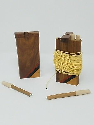 High Quality Discrete Double One Hitter Dugout with 50ft of hemp wick.