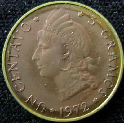 Dominican Republic 1972 centavo Proof low mintage 500 #45
