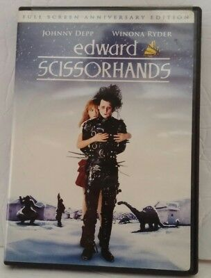 Edward Scissorhands Full Screen Anniversary Edition DVD 1990