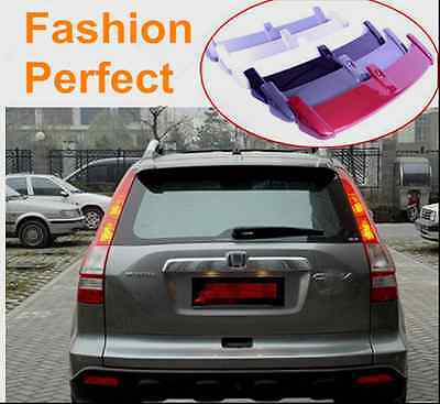 ABS Factory Style Unpaint Spoiler Lip Rear Wing For Honda CRV CR-V 2007-2011