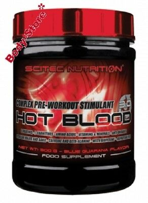 Scitec Nutrition HOT BLOOD 3.0 300g Dose Pre Workout Booster mit Creatin