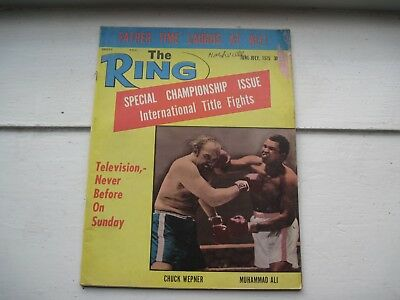 The Ring Boxing Magazine - Jun.-Jul. 1975 - Special Championship Issue