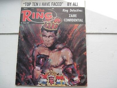 The Ring Boxing Magazine - Feb.-Mar. 1975 - Top Ten I Have Faced by Ali