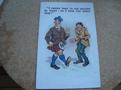 Scottish Comic Postcard:Donald Mc`gill Scottish Humour