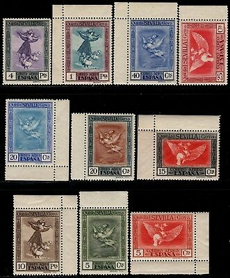 1930.Goya.Colores Cambiados.Serie completa.MGNFC.MNH.**Ed:517/530cc.PCat:450€